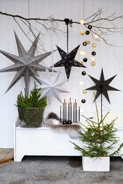 source - Contemporary Christmas Decorations