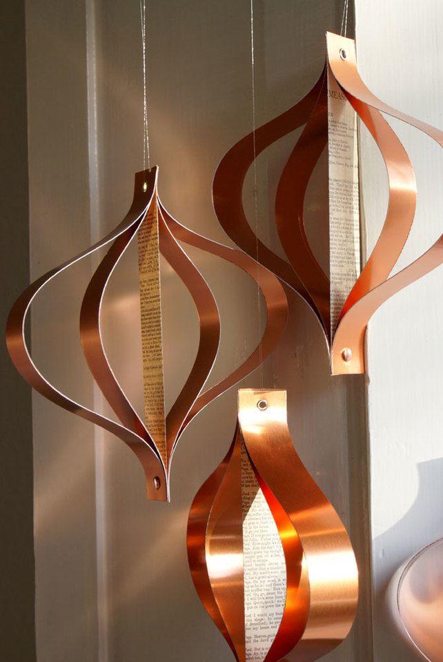 metallic paper decoration source