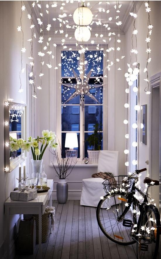 Top 40 Stunning Indoor Christmas Light Decoration Ideas Christmas Celebration All About Christmas
