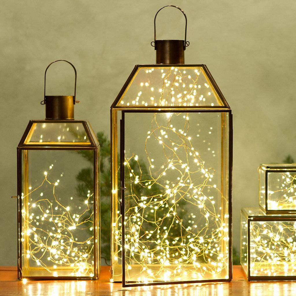 Top 40 Stunning Indoor Christmas Light Decoration Ideas ...