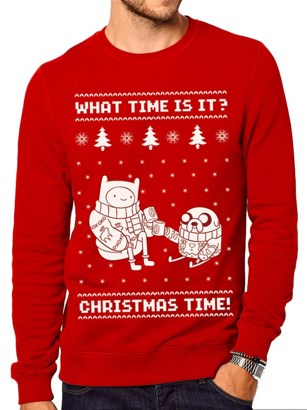 4b8f600a7b Source. Source. Have fun in the festive red with this tacky sweater that is  taking Christmas ...