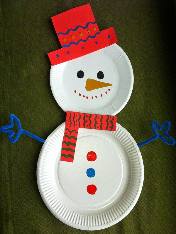 Top 40 christmas art and craft ideas for the kids for Arts and crafts christmas decoration ideas