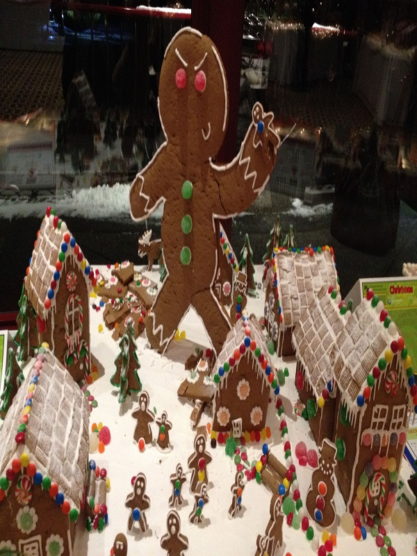 A Funny Gingerbread House: Source