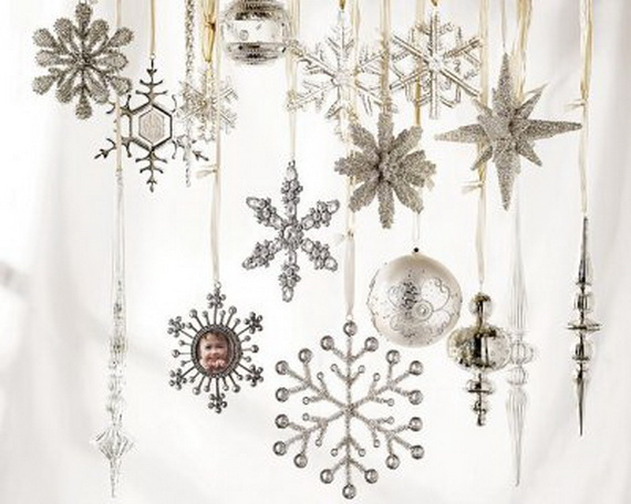 turning your home into a white wonderland may sound impossible but with imagination and matching christmas decoration