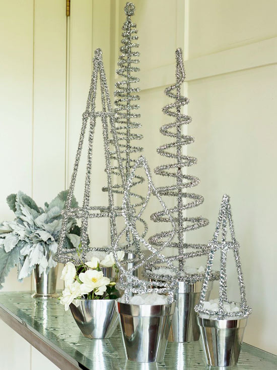 Top Silver And White Christmas Decoration Ideas Christmas Celebration All About Christmas