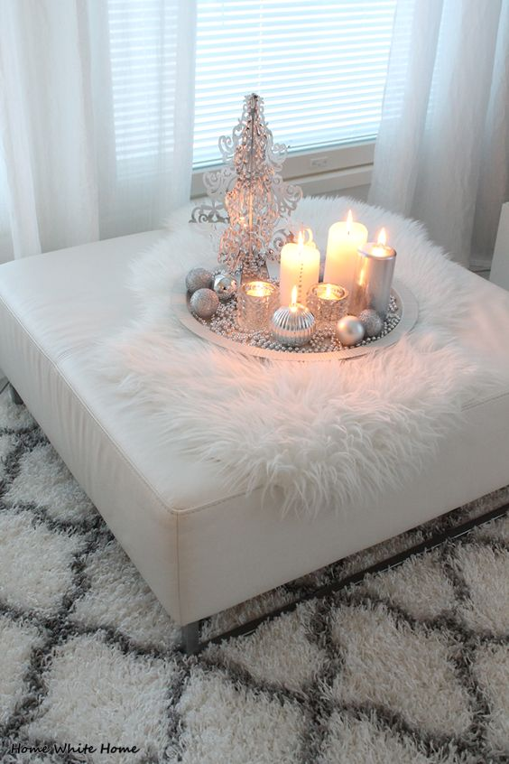 Outstanding Top Silver And White Christmas Decoration Ideas Christmas Alphanode Cool Chair Designs And Ideas Alphanodeonline