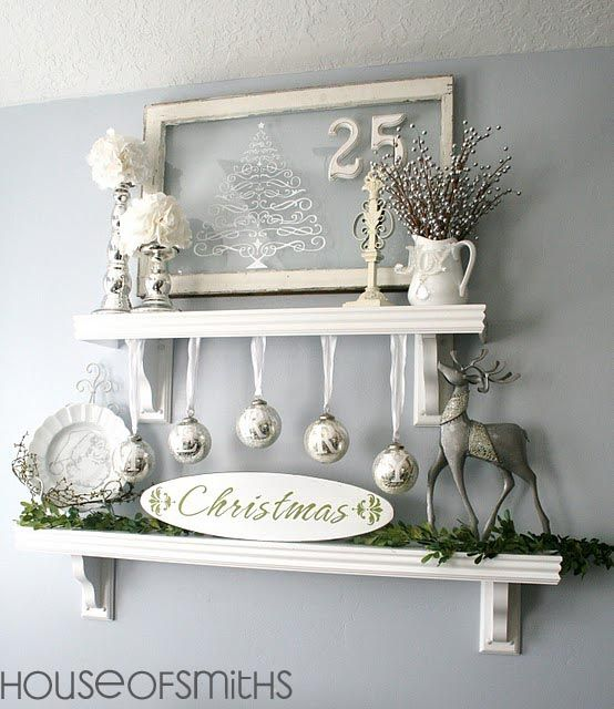 source - Christmas Shelf Decorations