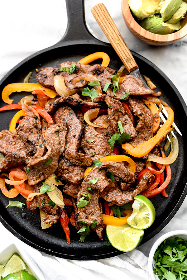 Fajita Bowl Recipe Steak