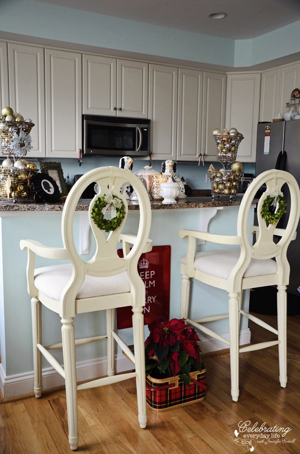 Top Kitchen Decorations For Christmas Christmas Celebration All - How to decorate a kitchen island