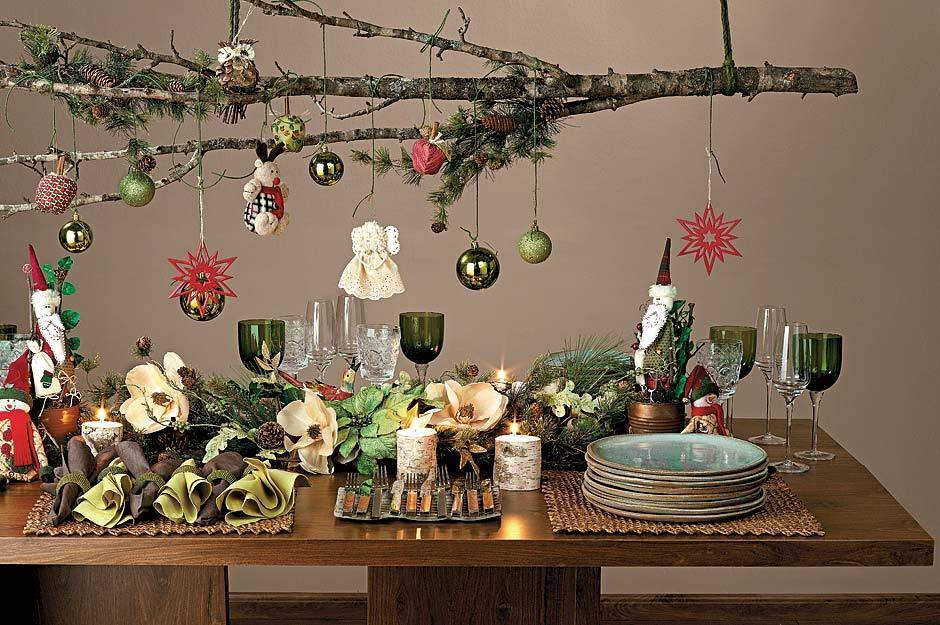 Decorating Dining Room Buffet Christmas - Best Dining Room