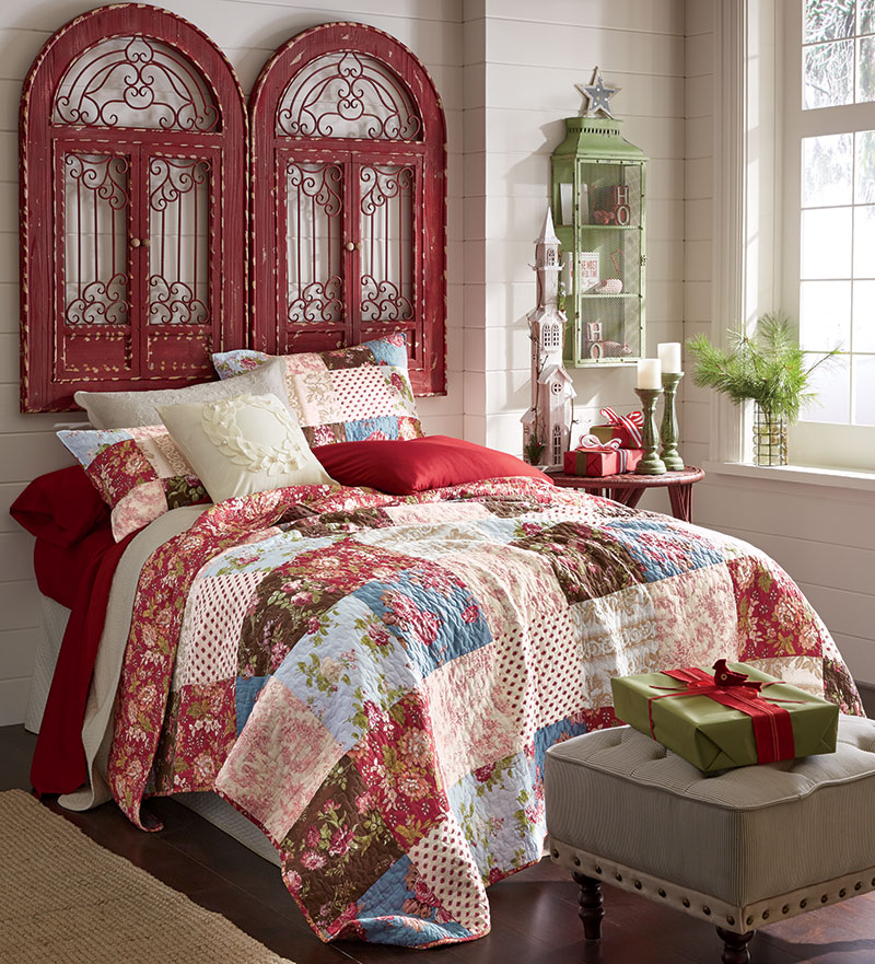Bedroom Decorating Ideas: Top 40 Christmas Bedroom Decorations
