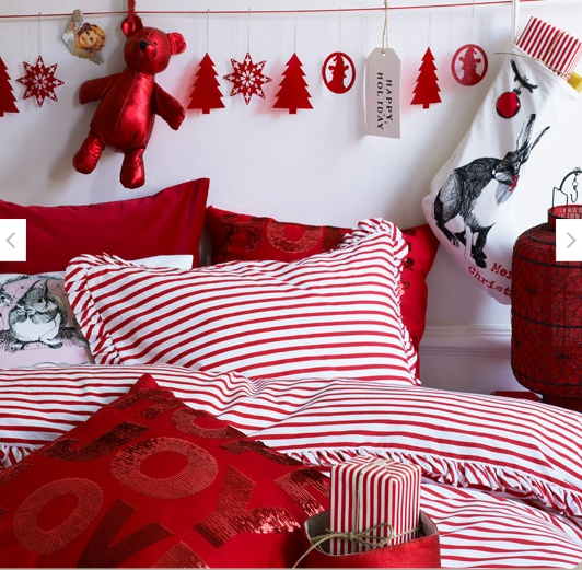 Christmas Room Decorations top 40 christmas bedroom decorating ideas - christmas celebrations