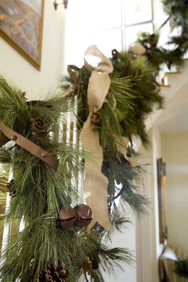 Well-known 40 Gorgeous Christmas Banister Decorating Ideas - Christmas  IC26