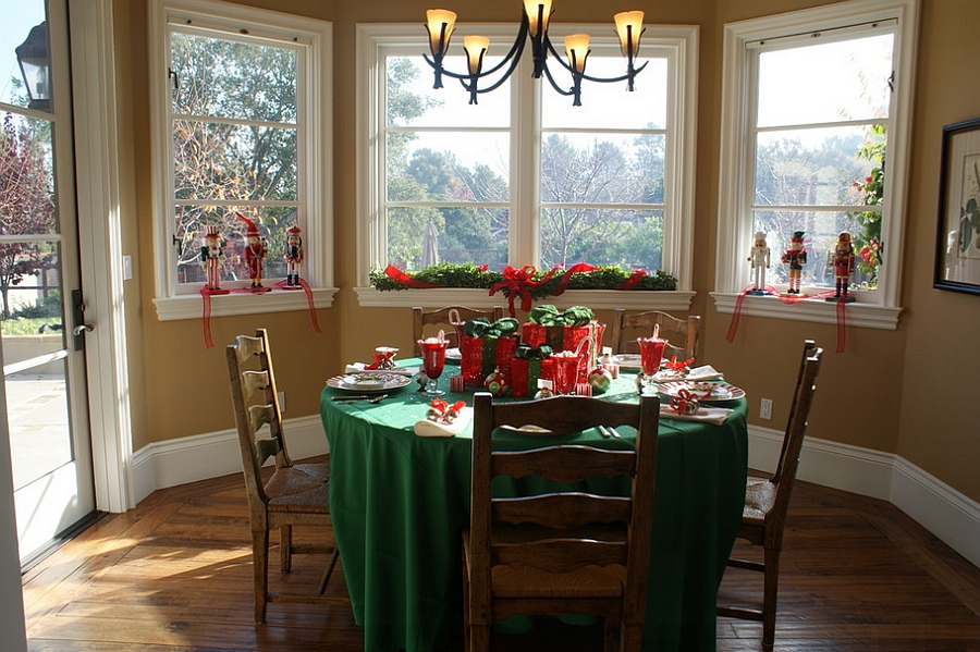 Top 40 dining hall decorations for christmas christmas for Hall to dining designs