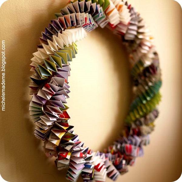 Paper Wreaths (1)