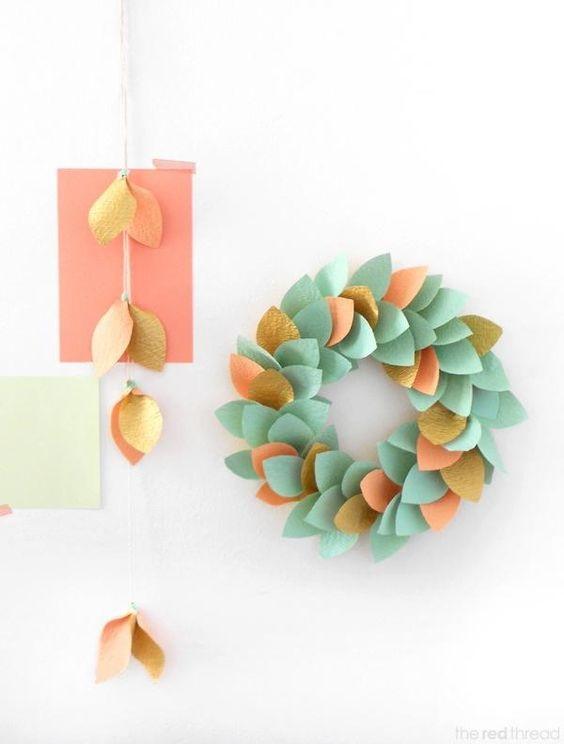 Paper Wreaths (10)