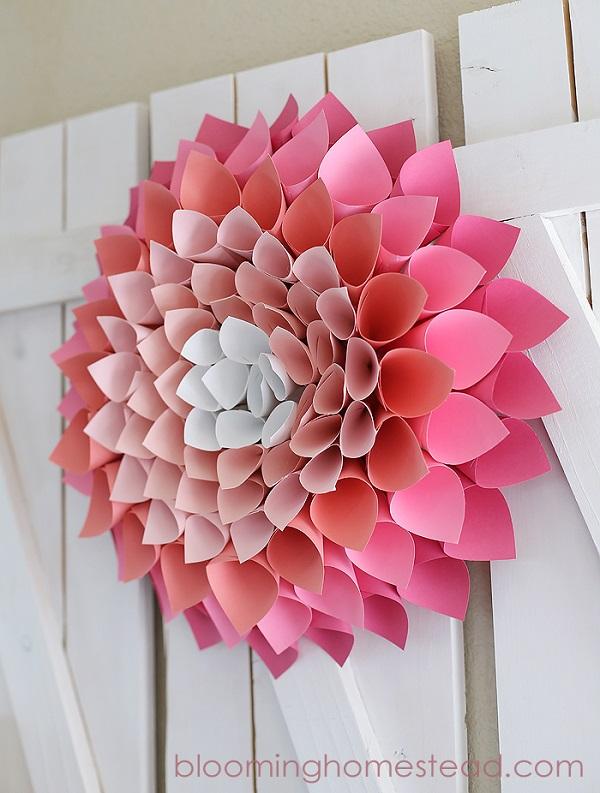 Paper Wreaths (14)