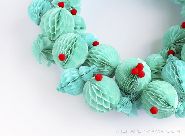 Paper Wreaths (18)