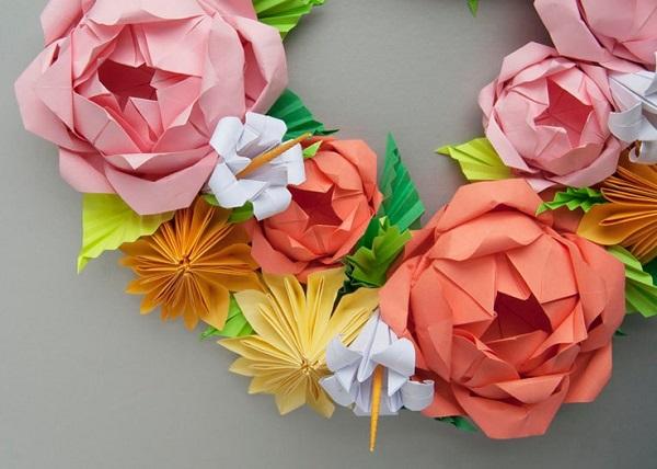 Paper Wreaths (29)
