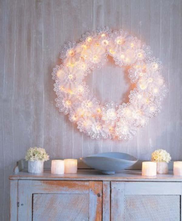 Paper Wreaths (3)