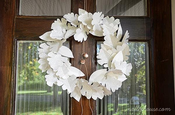 Paper Wreaths (32)
