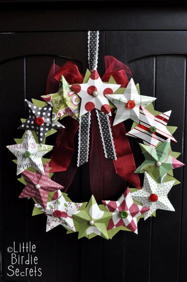 Paper Wreaths (37)