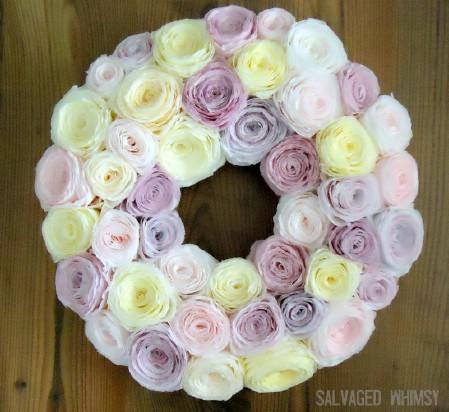 Paper Wreaths (4)