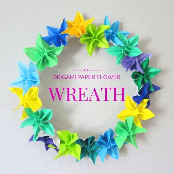 Paper Wreaths (5)
