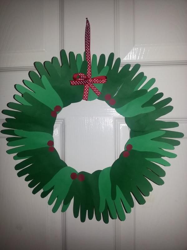 Paper Wreaths (6)