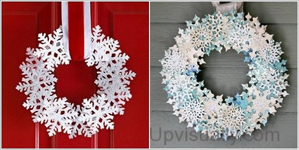 Paper Wreaths (8)
