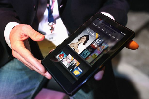 The new Amazon tablet called the Kindle Fire