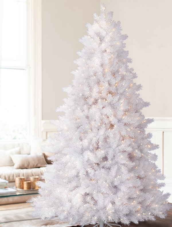 white christmas - Images Of White Christmas Trees Decorated
