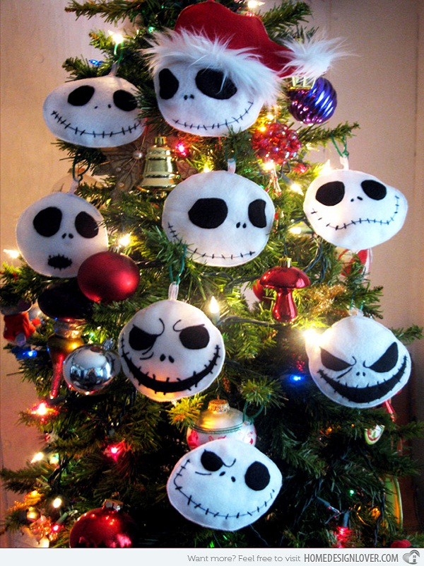 christmas tree decoration source - Jack Skellington Christmas Tree