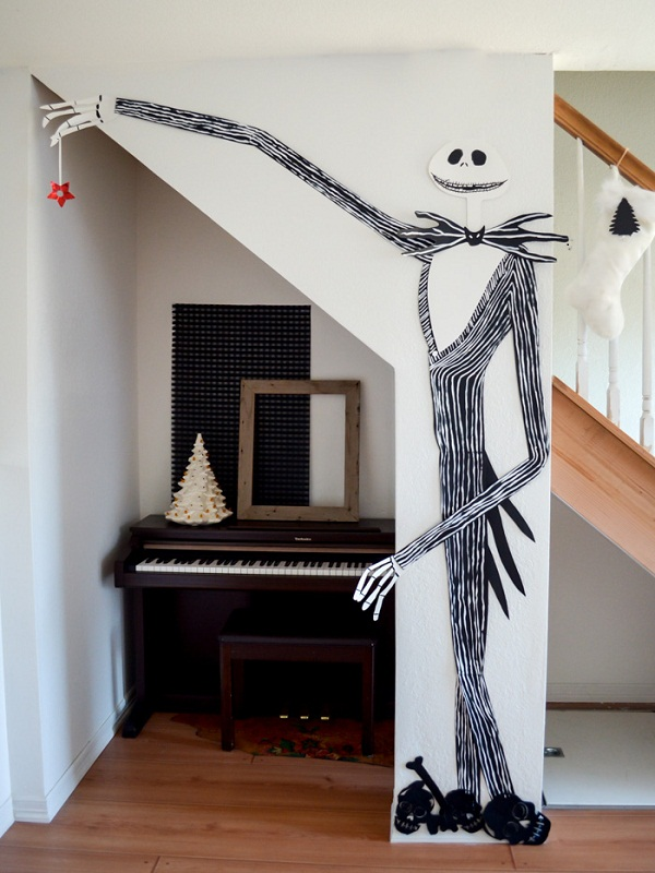 nightmare before christmas on the wall source - Nightmare Before Christmas Furniture
