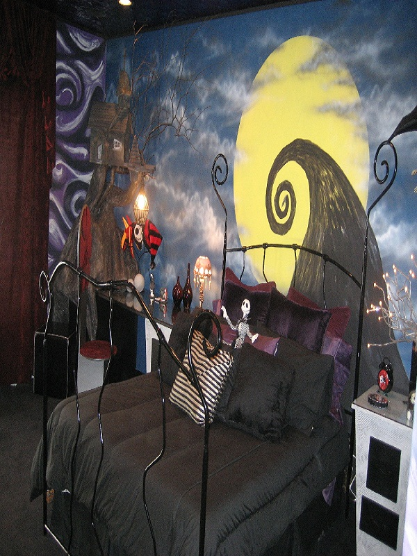 nightmare before christmas bedroom decoration source
