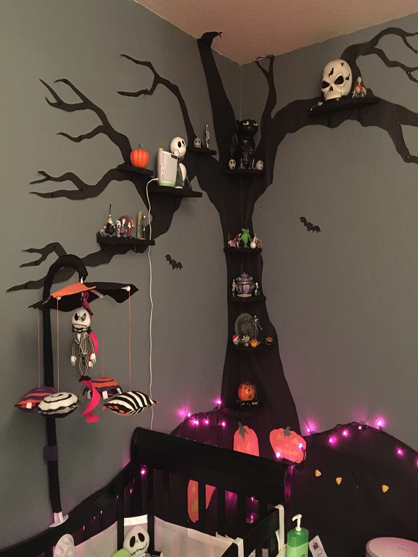 nightmare before christmas room decoration source - Nightmare Before Christmas Decorating Ideas