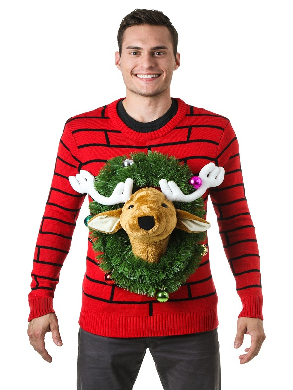 Top 40 Ugly Christmas Sweaters For Men Christmas Celebration All