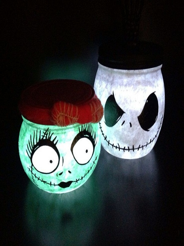 Nightmare before christmas decorations christmas celebration nightmare before christmas jars for the table source solutioingenieria Images