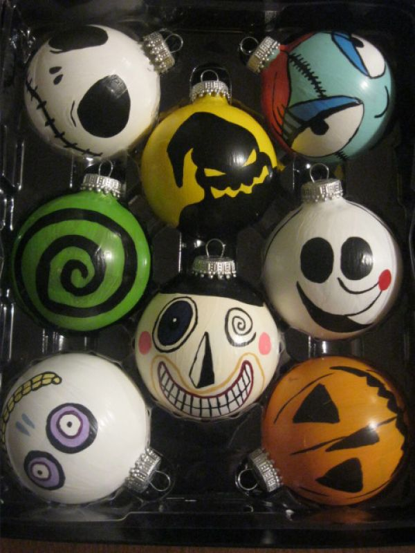 Nightmare before christmas decorations christmas celebration all cute nightmare before christmas ornaments source solutioingenieria Gallery