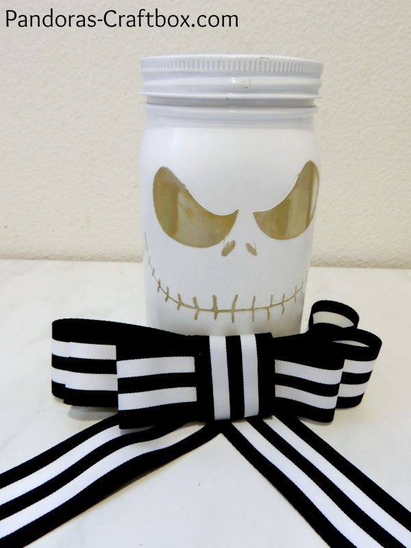 nightmare before christmas mason jar decorations source