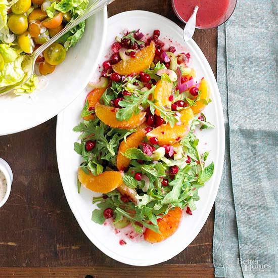 Green salad recipes for christmas dinner - Food salad recipes