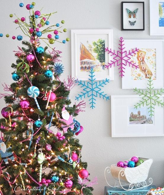 Top 40 Colorful Christmas Decoration - Christmas Celebrations