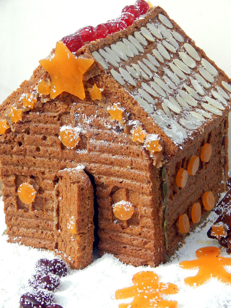 Gingerbread House Recipes And Templates Christmas