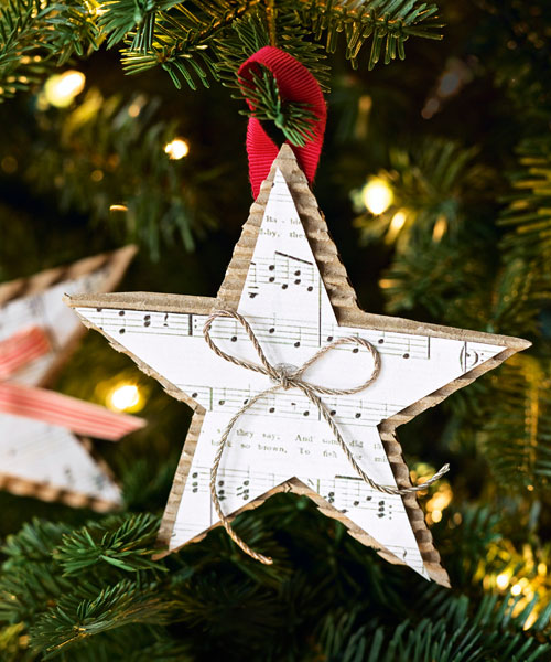christmas decorations to make at home with paper - Paper Christmas Decorations To Make At Home