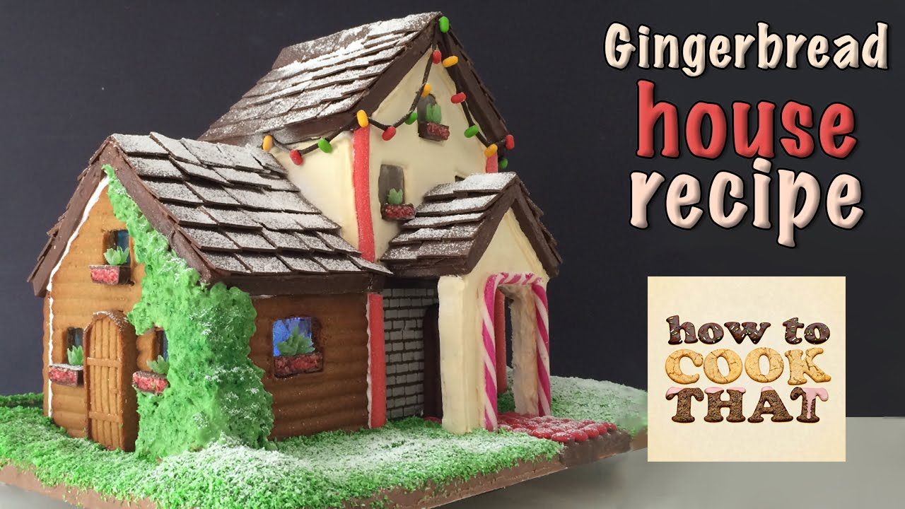 Gingerbread house recipes and templates christmas celebration source maxwellsz