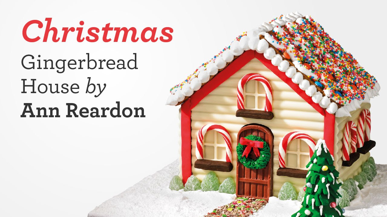 Gingerbread house recipes and templates christmas for How do you make a gingerbread house