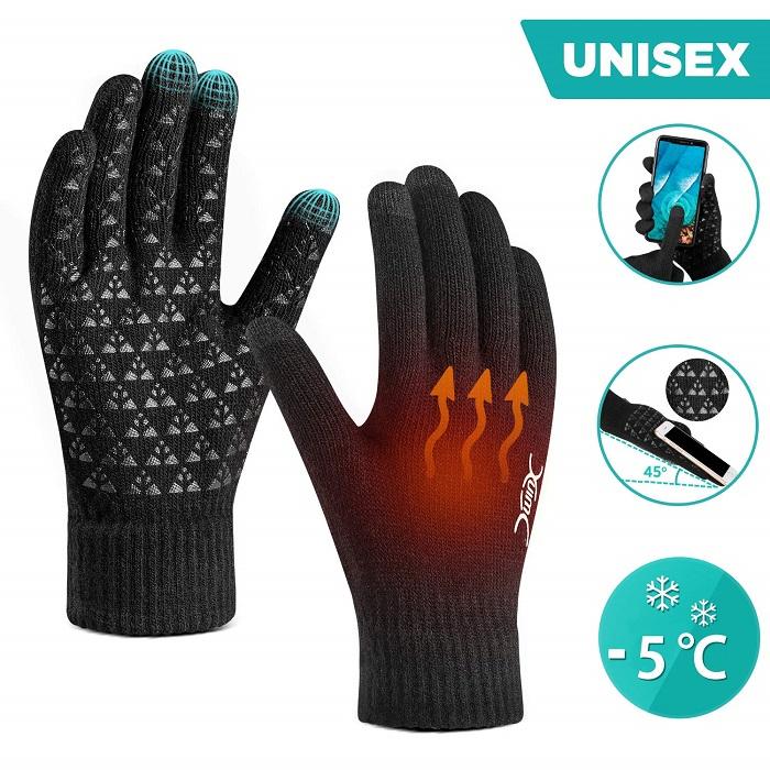Winter Gloves for Men Women Touch Screen