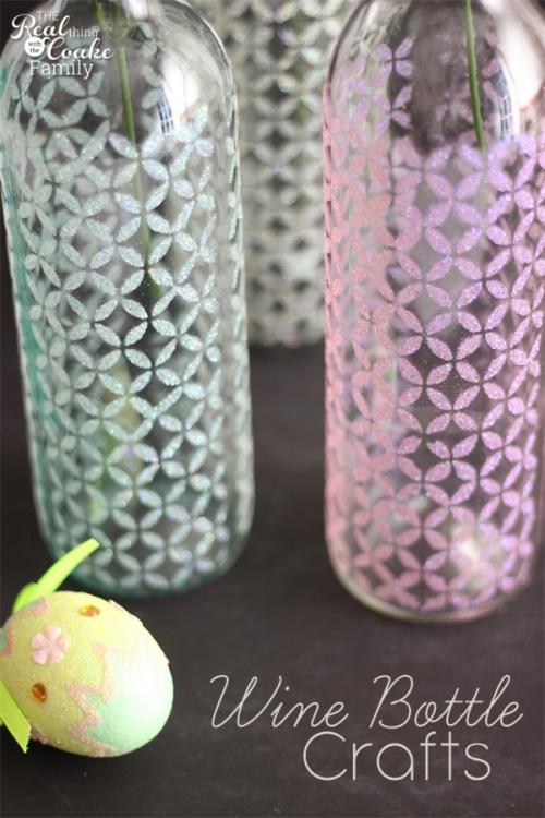 Water Bottle Decoration Ideas Beauteous Top 35 Decoration Ideas Using Wine Bottles  Christmas Celebrations Decorating Inspiration
