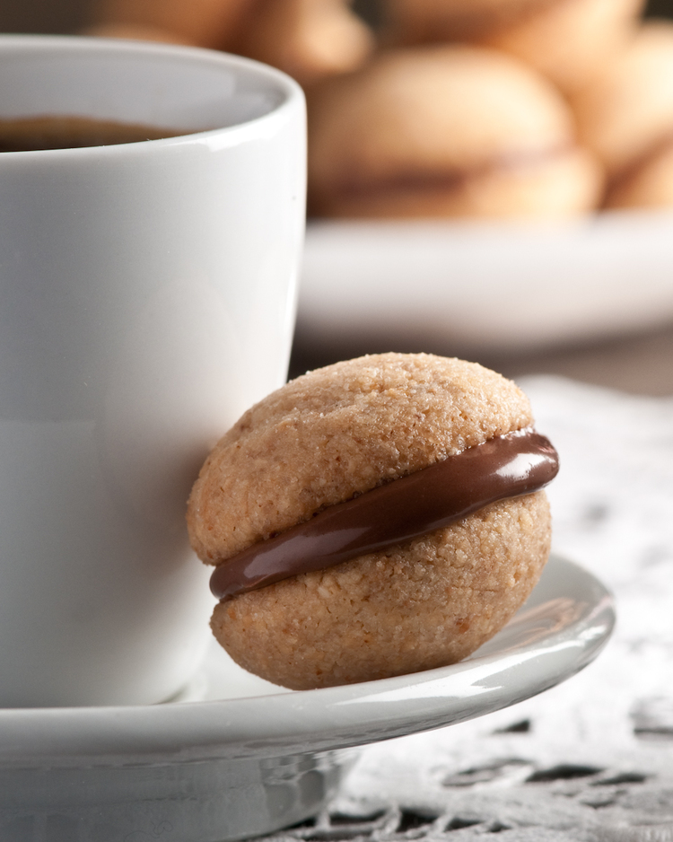 gluten free hazelnut cookies source