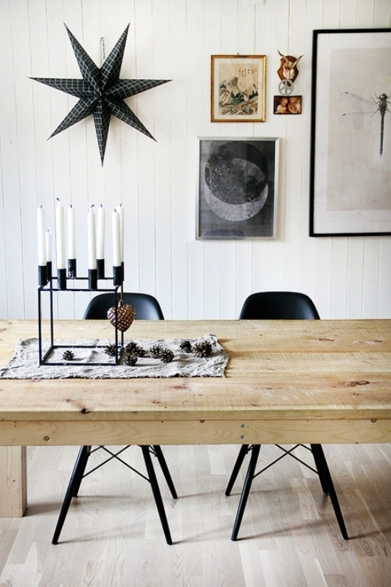 top 40 charming black and white christmas decoration ideas